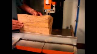 Resawing with Grizzly Band Saw G0513