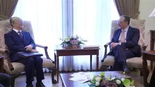 Встреча Мнацаканяна с генеральным директором МАГАТЭ Юкия Амано