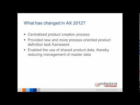 Product Information Management in Microsoft Dynamics AX