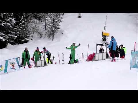第19回冬季デフリンピック競技大会(イタリア) アルペンスノーボードのスタート