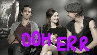 Jamie Campbell Bower And Robert Sheehan Talk Getting It On In The Mortal Instruments Movie