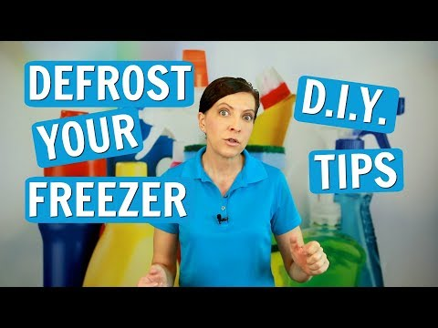 How to Defrost A Freezer - DIY Hacks - House Cleaning Tutorial 2017