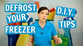 How to Defrost A Freezer - DIY Hacks - House Cleaning Tutorial