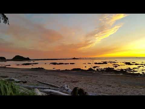 Video of sunset.
