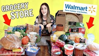 Walmart Vs. Grocery Store $50 Haul  | Which One Is Better?