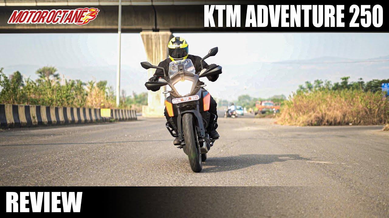 Motoroctane Youtube Video - KTM 250 Adventure - Off Road & On-Road Bike
