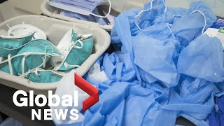 Coronavirus outbreak: China asked Chinese nationals to help stockpile PPE
