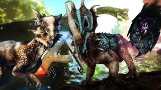 "ARK Survival Evolved - HIDDEN ""EXTINCTION"" REVEAL! - New Dinosaurs! Brachi, Stygi & Styraco - Update"