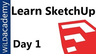 SketchUp Tutorial - 1 - Beginner SketchUp Tutorial