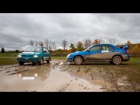 Two Subarus, Double Rallycross [Episode 9] -- /MY LIFE AS A RALLYIST