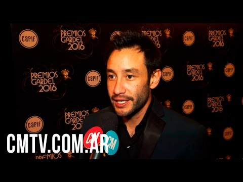 Luciano Pereyra video Entrevista CM 2016 - Premios Gardel 2016