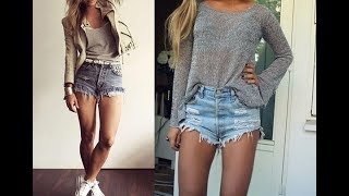 Best High waisted shorts outfit ideas