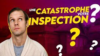 Vendre sa maison 🚨 Votre inspection s'est mal déroulée 😞? Quoi faire 🤷♂️