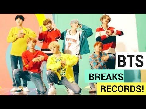 BTS 'DNA' Music Video & New Album Break Records! (UPDATE)