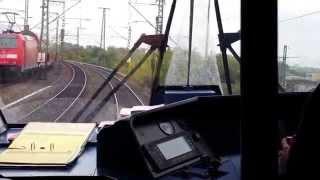 preview picture of video 'IC 2160 Stuttgart Hbf - Pforzheim Hbf (Führerstandsmitfahrt)'