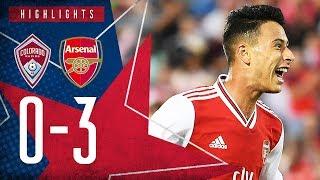 Martinelli's brilliant debut, plus Olayinka's screamer!    Colorado Rapids 0-3 Arsenal - Highlights