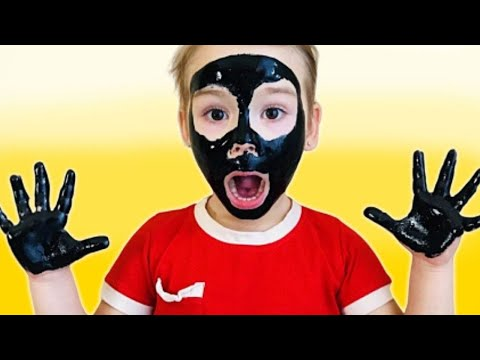 Мy face and my hands are black | Sofita Pretend Play with Magic Bag