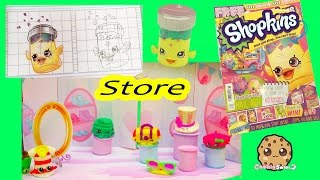 Make Your Own Shopkins Fashion Store + Drawing Season 4 Petkins from Official Magazine