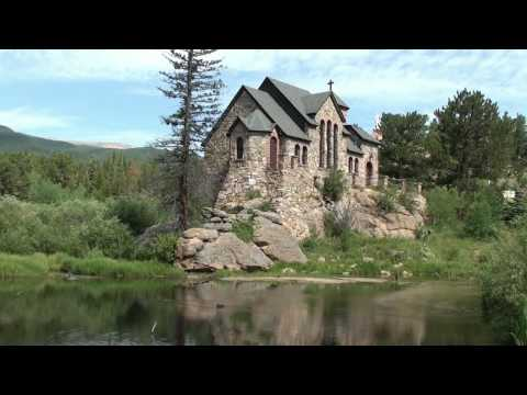 Awesome! Chapel Built on a Rock Allenspark Colorado in High Def