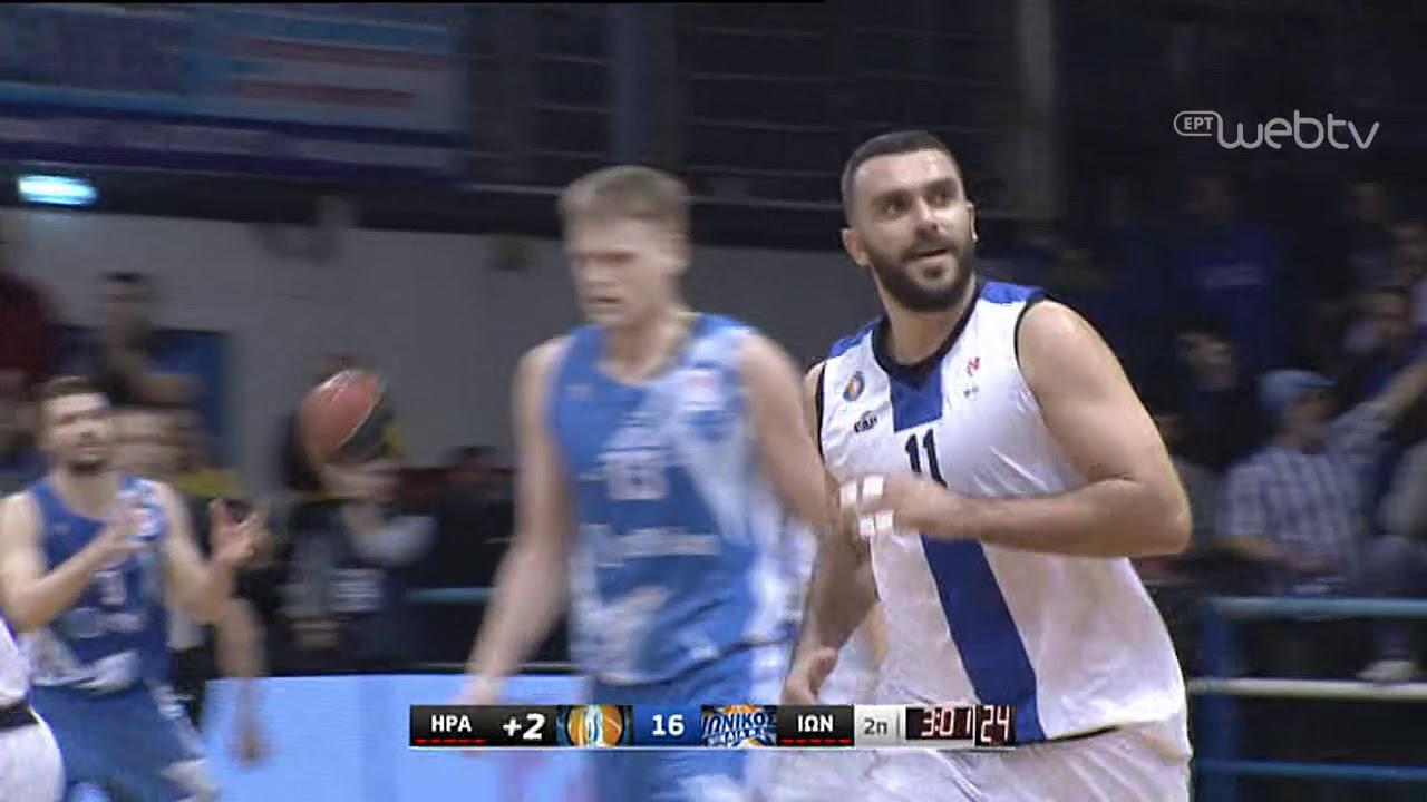 Basket League 2019-2020: ΗΡΑΚΛΗΣ – ΙΩΝΙΚΟΣ Ν. | HIGHLIGHTS | 01/03/2020 | ΕΡΤ