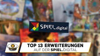 Top 13 Erweiterungen auf der SPIEL.digital 2020