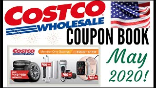 🇺🇸MAY + JUNE 2020 COSTCO Coupon Book!!!🔥MEMBER ONLY SAVINGS DEALS 💰Preview 2020 ● 5/20/20 - 6/14/20