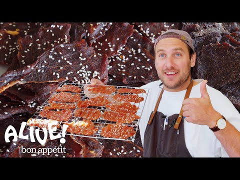 Brad Makes Beef Jerky | It's Alive | Bon Appetit