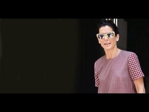 Sandra Bullock Street Style | Celeb Style | POPSUGAR Fashion