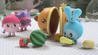 Малышарики - новые серии - Ням-Ням (125 серия) Развивающие мультики для самых маленьких