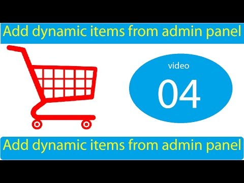 add dynamic product with image from admin panel