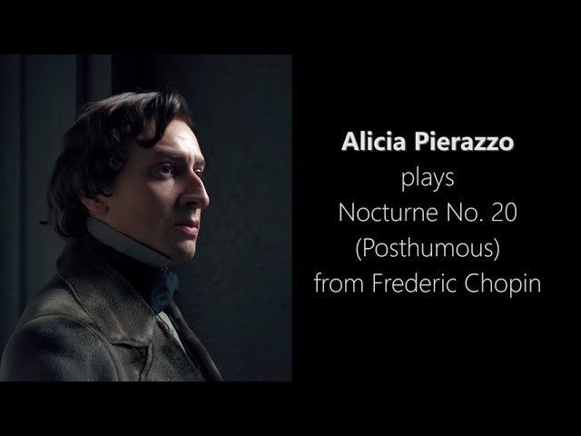 Alicia playing Nocturne No 20 Chopin