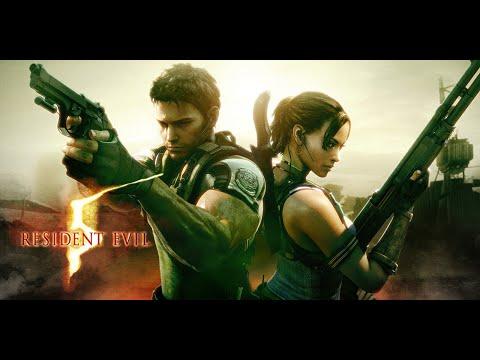 Resident Evil 5 Прохождение с комментариями на русском (Глава 4 - 1) Пещеры. Часть 9