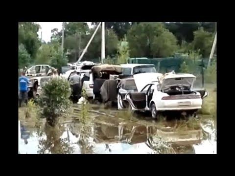 ОБЛАСТЬ ТОНЕТ. НА БЛАГОВЕЩЕНСК НАДВИГАЕТСЯ ПАВОДОК./Flood is coming.