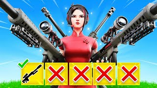 WINNING with FIRST WEAPON CHALLENGE in Fortnite