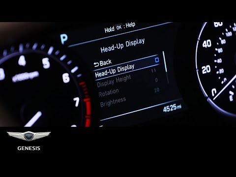 Genesis G80 | Heads-up Display | Genesis