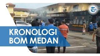 Kronologi Dugaan Bom Bunuh Diri Polrestabes Medan, Pelaku Masuk dengan Jaket Ojol