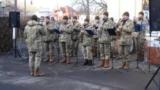 Агітаційний концерт оркестр 14-ої ОМБр