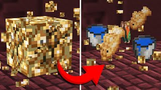 The NETHER except with RANDOM Drops (Minecraft Randomizer Survival #3)