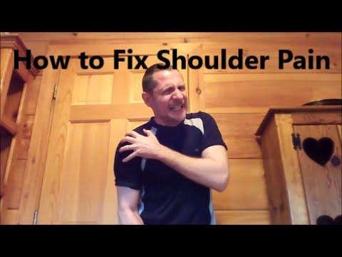 How to Cure Your Shoulder  (Tendonitis, Bursitis, Impingement)