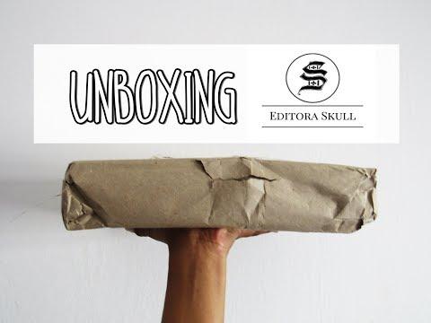 UNBOXING Editora SKULL | Passos entre Linhas