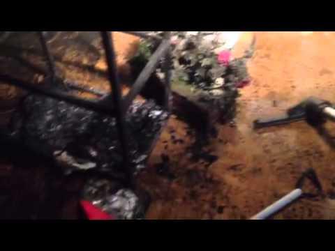 Incendio da Boldetti: la parte andata in fumo