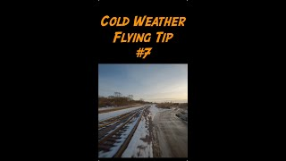 Cold Weather FPV Flying Tip 7 - #shorts