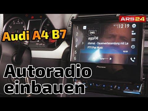 Audi A4 (B7) Autoradio wechseln mit Display | Pioneer AVH-Z7100DAB | ARS24