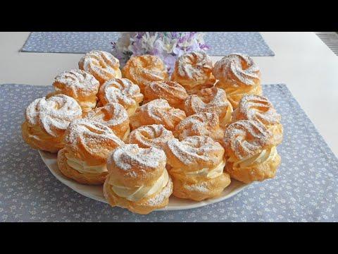 Vanilkové venčeky z odpaľovaného cesta / LiViera /