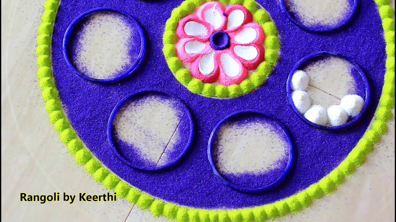 diwali rangoli designs by keerthi