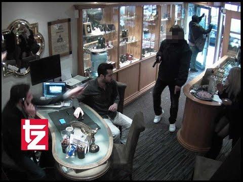 Spektakulär: Aufnahmen der Überwachungskamera am Viktualienmarkt - Juwelier überfallen