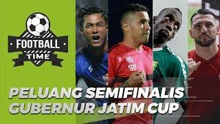 FOOTBALL TIME - Melihat Peluang Empat Semifinalis Piala Gubernur Jatim dan Prediksi Tim yang Juara