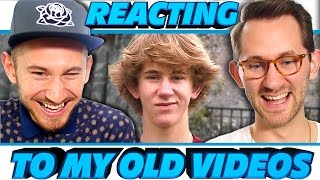 Reacting To My Videos BEFORE YouTube 2