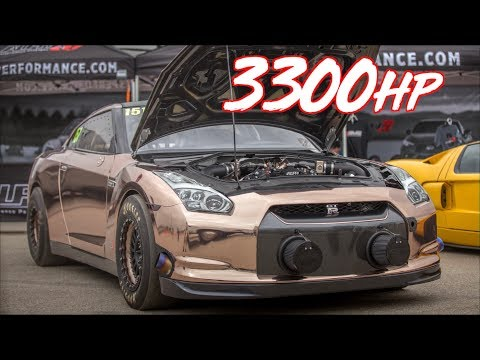 3300HP Alpha Queen GTR 228MPH! - Worlds Most Powerful GTR?