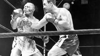 Rocky Marciano vs Jersey Joe Walcott